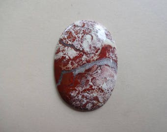 Red River Jasper cabochon 48x34 mm