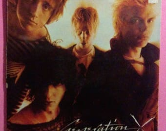 Generation X - S/T Vinyl LP * 1978 1st US Pressing CHR 1169 * Billy Idol * Out of Print * Vintage Vinyl Record * 1970's Punk