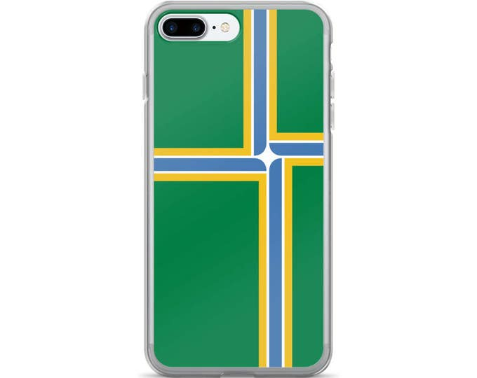 Portland Oregon City Flag iPhone Case