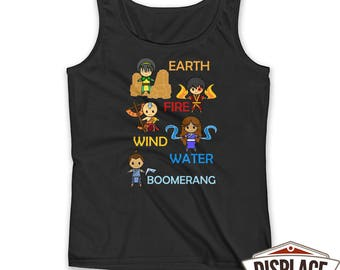 Avatar The Last Airbender Shirt / The Legend Of / Last Airbender Shirt / Anime Shirt / Anime Gift / Avatar Shirt / Tank Top