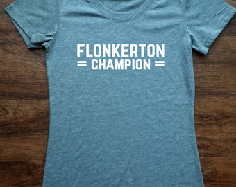 The Office Flonkerton Champion TShirt