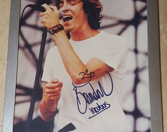 Incubus - Brandon Boyd Autographed Framed Photo w/ COA