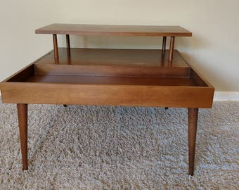 Mid Century Paul Mccobb Planner Group Square Side Table