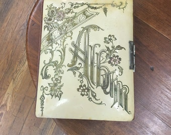 1920's Celluloid Covered Photo Album