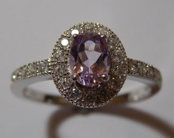 Brazilian Amethyst Sterling Silver Ring