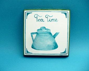 Tea Time - Cyan