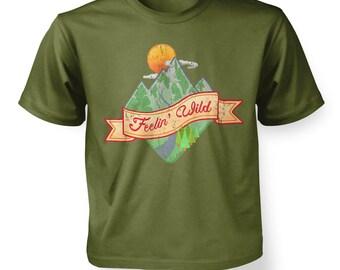 Feelin' Wild kids t-shirt