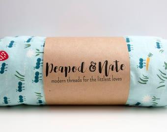 Custom Crib Sheet -- Baby Bedding