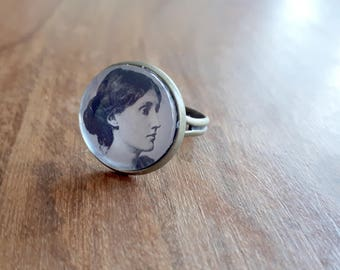 Virginia Woolf - Adjustable Ring