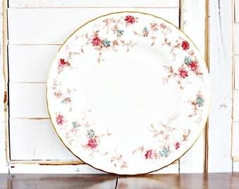 "Vintage Minton Ancestral Salad Plate 8"" | Minton Salad Plate, English Salad Plate, Vintage Salad Plate, Bone China Salad Plate"