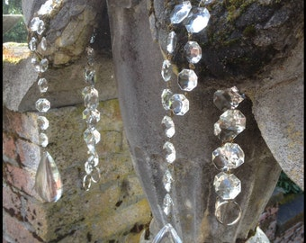 Elegant French Crystal Curtain Tieback