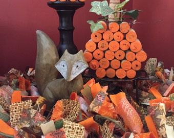 Thanksgiving Garland, Fall Garland, Harvest Garland, Ribbon Garland, Fabric Garland, Autumn Garland