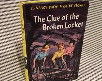 """Nancy Drew """"Case of the Broken Locket"""" (Book #11)"""