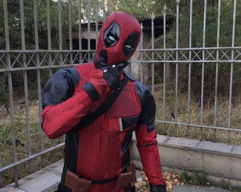 Deadpool mask/ Deadpool shell mask/Deadpool high end mask with undermask