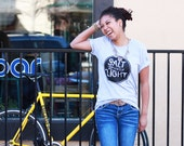 Salt and Light Unisex Jersey Tee // proceeds aid victims of sex trafficking