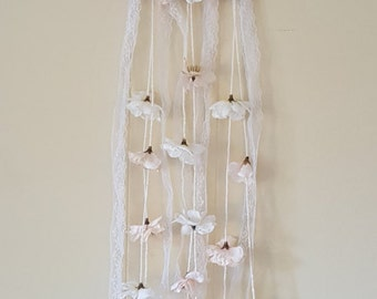 Elegant Lace Dreamcatcher -- Boho Style Dream Catcher