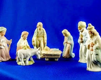 Lefton Nativity Set