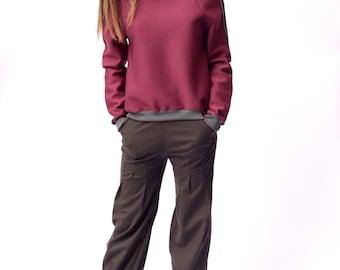 Woman Neoprene Sweatshirt