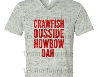 Crawfish boil shirt, crawfish eating shirt, women's crawfish shirt, crawfish party, crawfish t shirt, glitter shirt, womens graphic tees