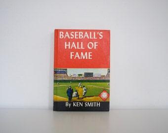 Baseball's Hall of Fame (1966) - Midcentury baseball book
