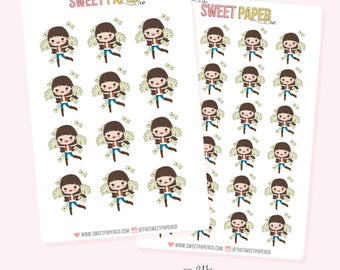 PAYDAY Planner Stickers - Claire