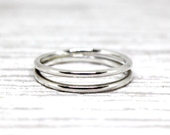The Split: Solid Sterling Silver Handmade Ring