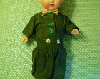 Dutch Boy Doll Vintage Collectible