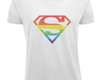 Pride T shirt - WHITE
