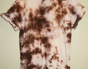 Tie Dye T-Shirt sprayed T-shirt hipster galaxy grunge Retro 90s t shirt indie dip dye unisex rave skate top