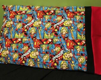 Supergirl Pillowcase
