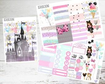 Magical Day ECLP Weekly Planner Sticker-Disney Weekly Planner Stickers-Planner Sticker Kit-Planner Sticker Set