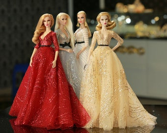 dress for fashion royalty , Poppy Parker, Silkstone Barbie, fr2 , 12'' Fashion Doll , Fr1