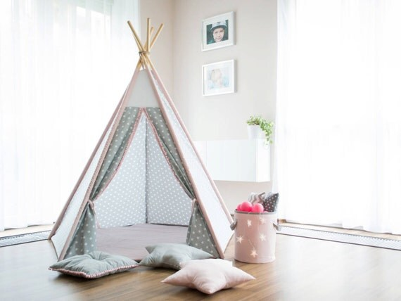 tipi kleine prinzessin kinder tipi kinder tipi tipi zelt. Black Bedroom Furniture Sets. Home Design Ideas