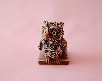 Owl #6 | Vintage | Ceramic | The Owl Collection