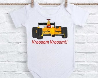 Indy Car T Shirt or Onesie, Indianapolis Onesie, Racing Onesie, Car Racing Onesie, Race Car T-Shirt, Race Car Onesie, Car Gifts, Race Car