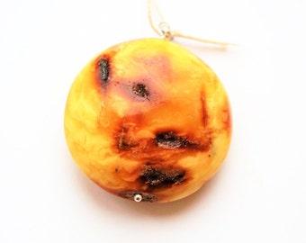 Natural Baltic Amber Pendant 18g