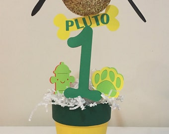 Pluto Centerpiece! Mickey Mouse Clubhouse! 1st Birthday!