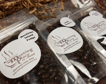 Coffee Gift - Surprise Coffee Sampler, Variety of 3 Whole Bean or Ground Coffee Samplers, Thank You Gift, stocking stuffer