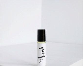Green Tea - Natural Perfume Oil- Vegan Oil - Roller Ball- Fragrance