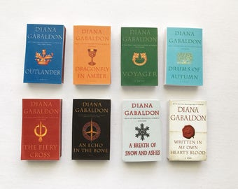 Outlander Series Book Matches // Diana Gabaldon // Stocking Stuffers