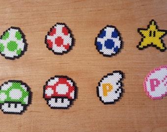 Mario Item Keychains