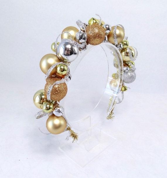 Tacky Silver Gold Headband