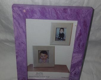 Tie-Dye 4x6 photo Frame. (Vertical or Horizontal)