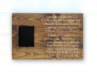 Wood Memorial Sign - Memorial Heaven Sign - Memorial Sign - Condolence Sign - Loving Memory Sign - Bereavement Gifts - Condolence Signs
