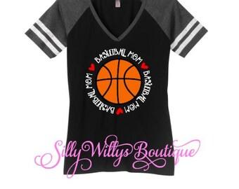 Basketball mom shirt, basketball mom tee, Basketball mom, Basketball mom top