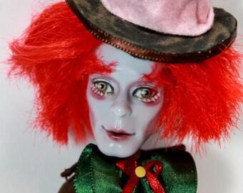Mad Hatter from Wonderland - OOAK monster high doll custom