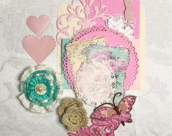Scrapbooking Embellishment Set
