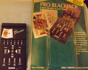 Pro Blackjack hand held game