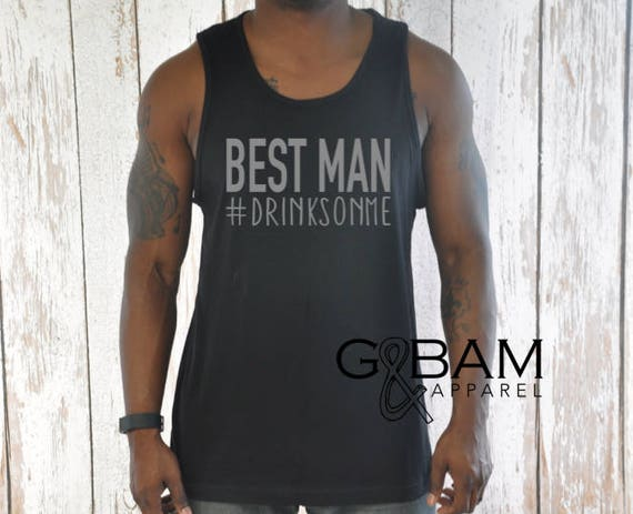 Best Man Tank top / Bachelor Party Tank top / Best man gift