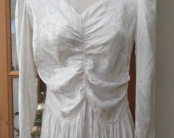 1946 wedding dress size XS-S